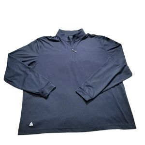 Scott Barber Half Zip Long Sleeve Pullover Top XL